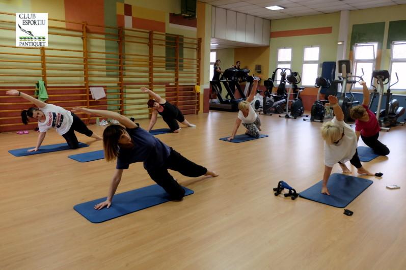 Pilates en Gimnàs Pantiquet Club Esportiu, Mollet del Vallès Barcelona, tel. 935937750.