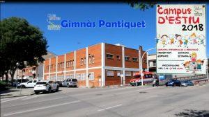 Campus d'Estiu 2018 en Gimnàs Pantiquet Club Esportiu, Mollet del Vallès Barcelona.