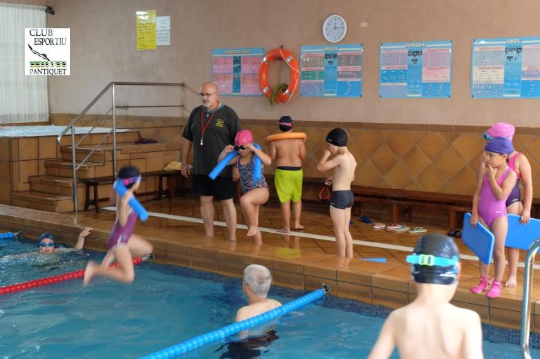 Piscina Club Esportiu Pantiquet, Mollet del Vallès, Barcelona, escuela de natación 2018