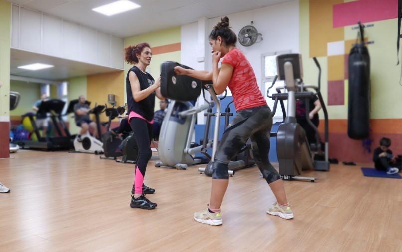 Aerobox nuevo en gimnasio Club Esportiu Pantiquet, Mollet del Vallès