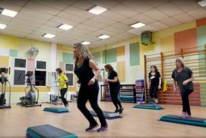 Centresport Pantiquet aerobic-steps